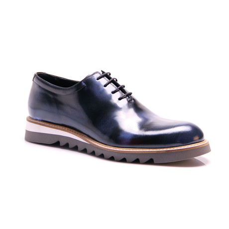 Plain Toe Oxford // Dark Blue (Euro: 39)