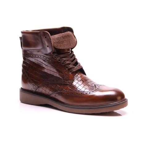 Tall Boot // Brown (Euro: 39)