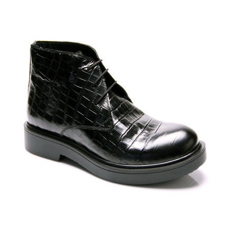 Crocodile Boot // Black (Euro: 39)