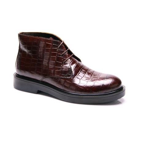 Crocodile Boot // Tobacco (Euro: 39)