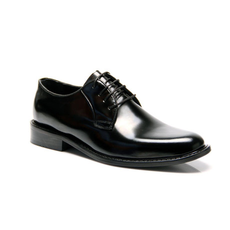 Reprise // Patent Plain Toe Derby // Black (Euro: 40)