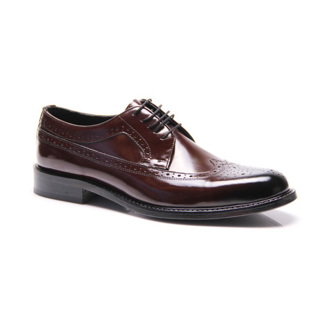 Reprise // Medallion Wingtip Derby // Bordeaux (Euro: 40)