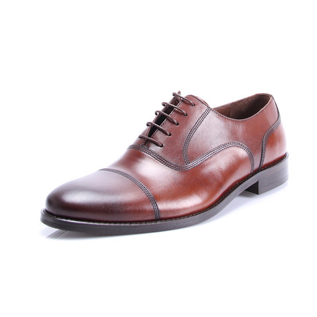 Classic Cap Toe Oxford // Brown