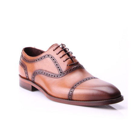 Reprise // Cap Toe Brogue // Tobacco (Euro: 40)