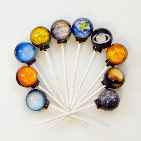 Planet Lollipops // 10 Piece