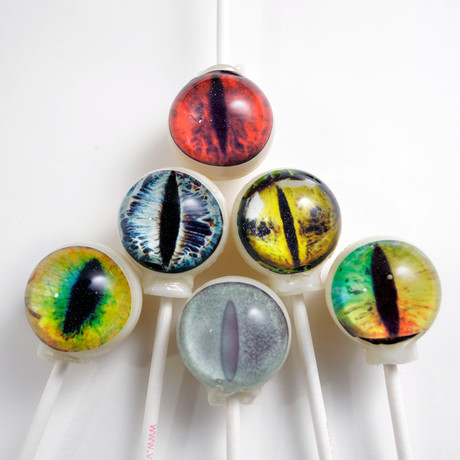 Creature Eyes Lollipops // 6 Piece