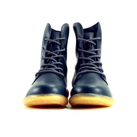 Larries High-Top Sneaker // Navy + Gum (US: 6)
