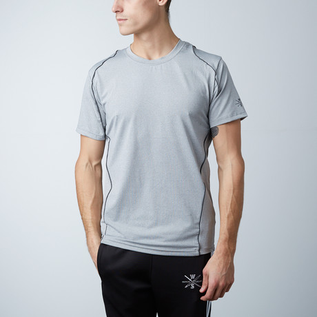 Traxx Fitness Tech Tee // Grey (XS)