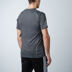 Traxx Fitness Tech Tee // Charcoal (S)