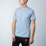 Traxx Fitness Tech Tee // Light Blue (S)