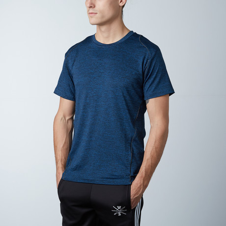 Traxx Fitness Tech Tee // Blue (XS)