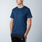 Traxx Fitness Tech Tee // Blue (S)