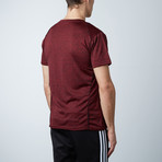 Traxx Fitness Tech Tee // Red (S)