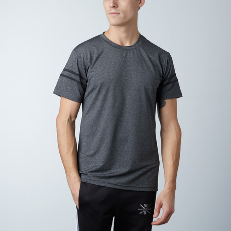 Volt Fitness Tech Tee // Charcoal (XS)