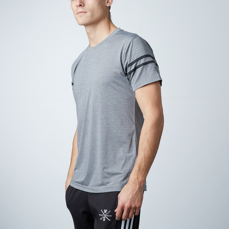 Volt Fitness Tech Tee // Grey (XS)