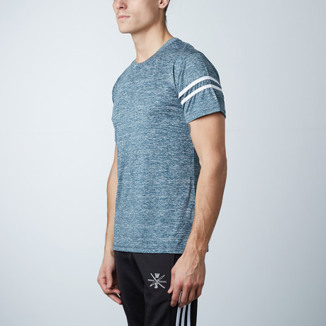 Volt Fitness Tech Tee // Blue (XS)