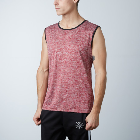 Breaker Fitness Tech Tank // Red (XS)