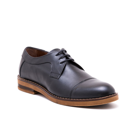 Cap-Toe Derby // Black (Euro: 39)