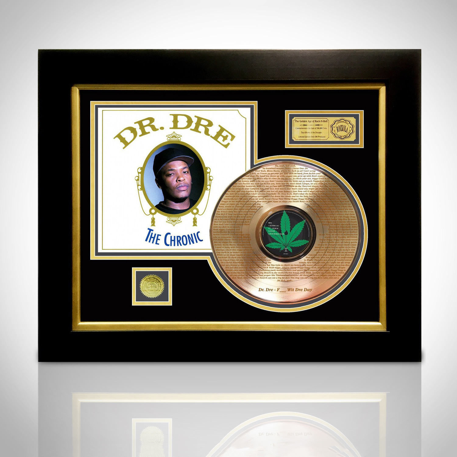 Gold LP Record // Dr. Dre // The Chronic