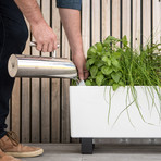 Mini Bench // Self-Watering Planter