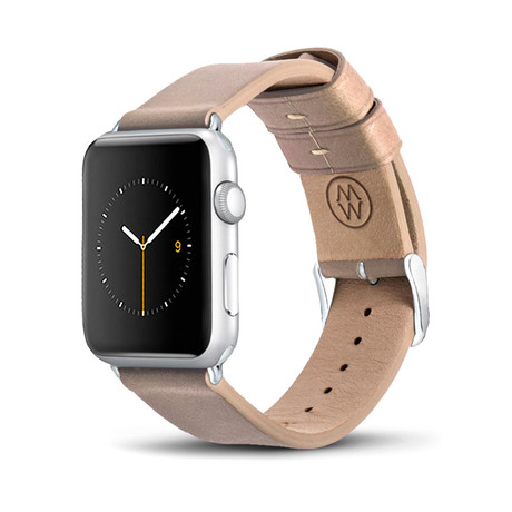 Creme Classic Leather Band // 42mm