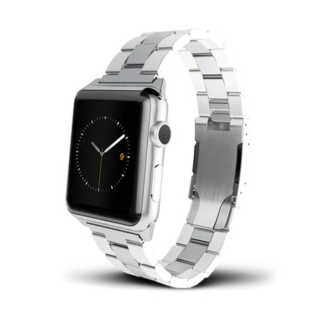 Silver Metal Band // 38mm (Silver Aluminum)