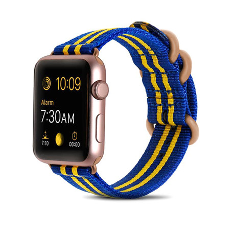 Royal Blue Nylon Band // 38mm