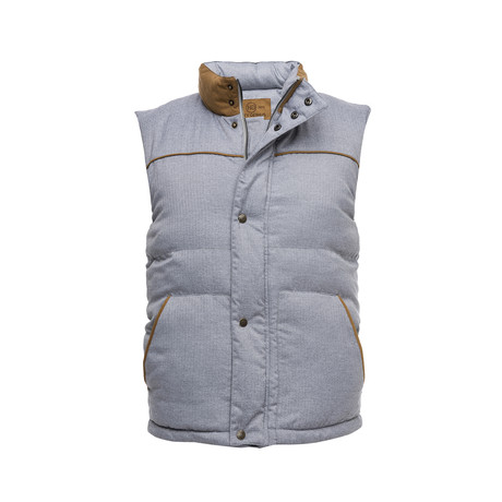 Quilted Vest // Gray (XS)