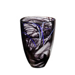 Contrast Vase (Blue)