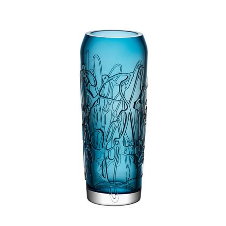 Twine Vase // Blue (Large)