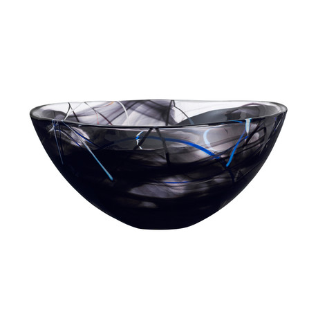 Contrast Bowl // Black (Small)