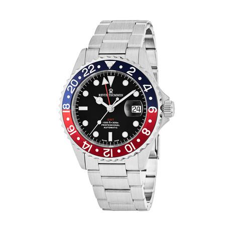 Revue Thommen GMT Diver Automatic // 17572.2135