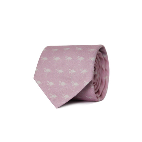 Flamingle Tie // Pink