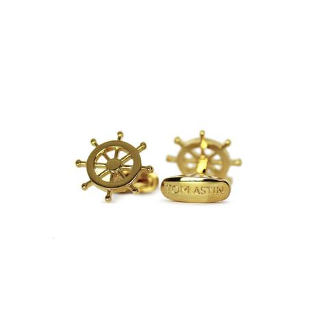 Rudderrick Cufflinks (Gold)