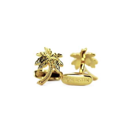 Vacay Cufflinks (Gold)