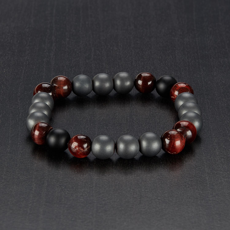 Red Hematite Beads Red Tiger Eye +...