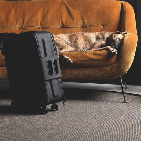 IBY6 Wheeled Suitcase // Black (Small)