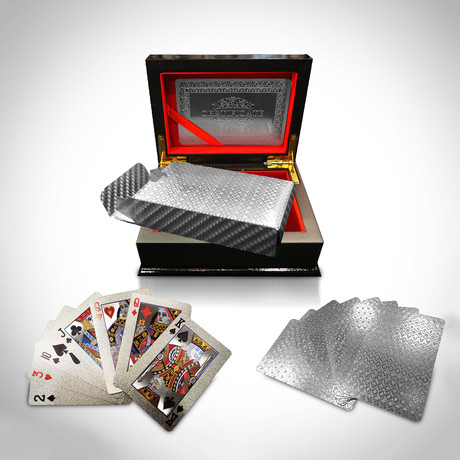 Platinum Plated Playing Cards // Mosaic