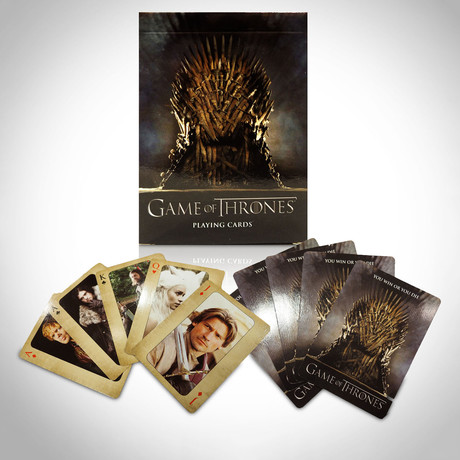 Game of Thrones Playing Cards // First Limited Edition