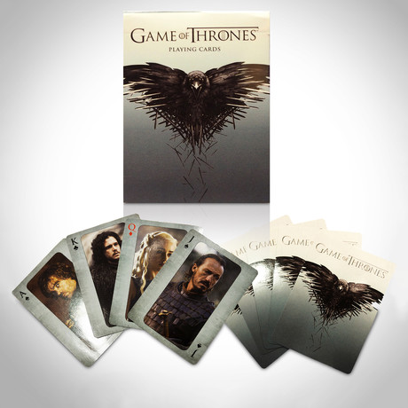 Game of Thrones Playing Cards // Second Limited Edition