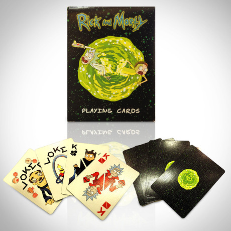 Rick and Morty Playing Cards // Limited Edition