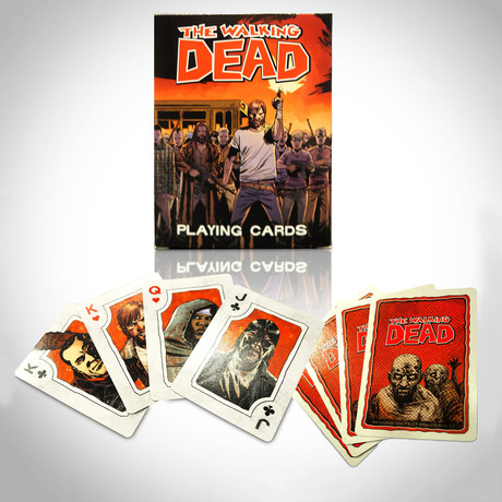 The Walking Dead Playing Cards // Limited Edition