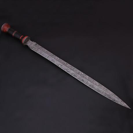 Damascus Gladius Sword // 9204