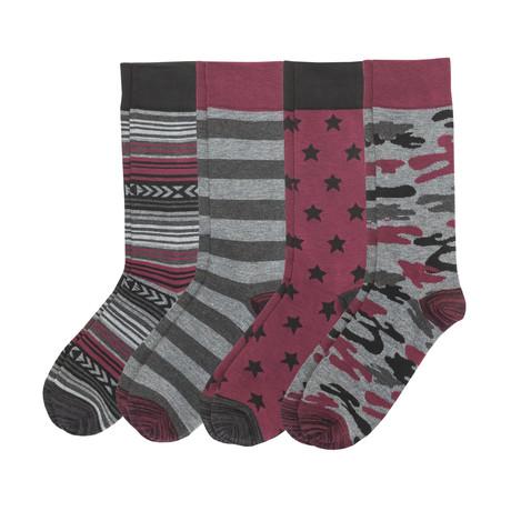 Camo Sock // Pack Of 4