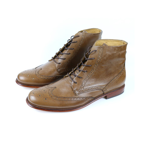 Torino Wingtip Boots // Miel (US: 7)