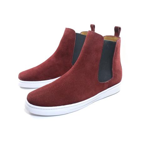 Vino Chelsea Boots Sneakers // Burgundy (US: 7)