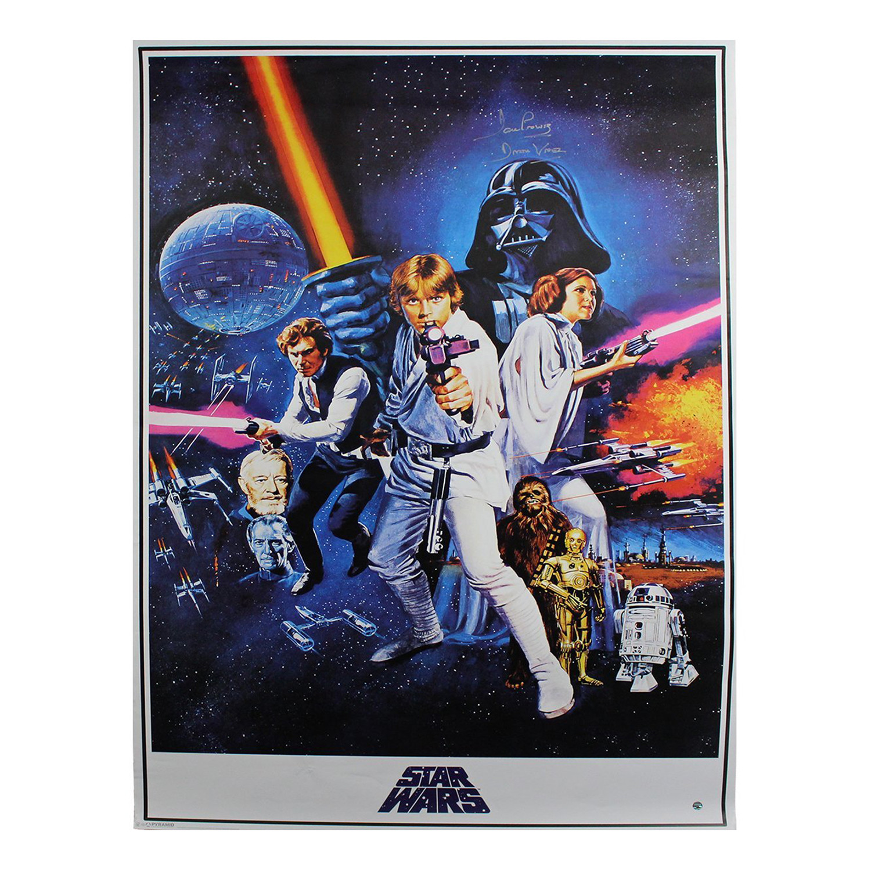 David Prowse Signed Star Wars Episode Iv Framed Movie Poster Steiner Sports Touch Of Modern