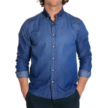L/S Denim Shirt // Denim (S)