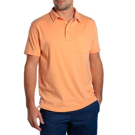 S/S Puremeso Pocket Polo // Dusty Orange (S)