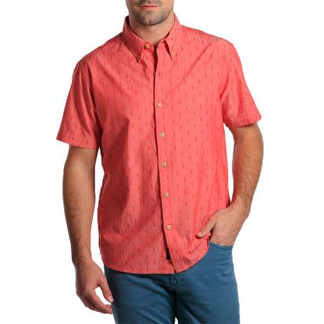 S/S Dobby Shirt // Red (S)